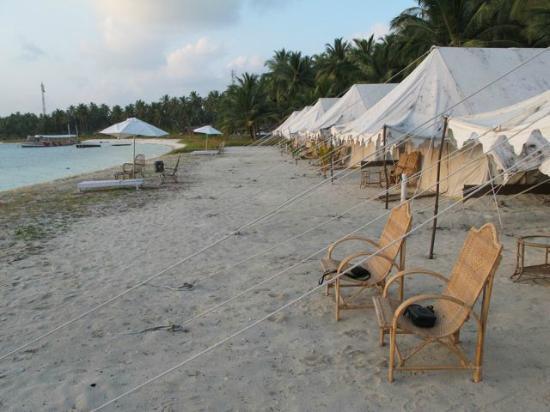 Bangaram Island Tents & Tents - Picture of Bangaram Island Bangaram - TripAdvisor