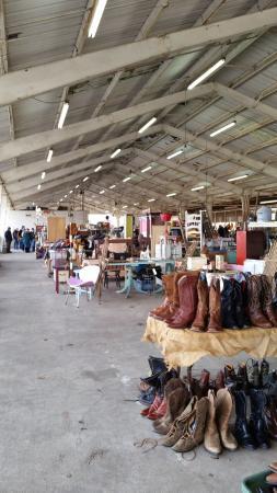 Nashville Flea Market Row Of Various Booths