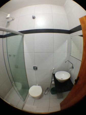 Hotel Pousada da Praia: Banheiro