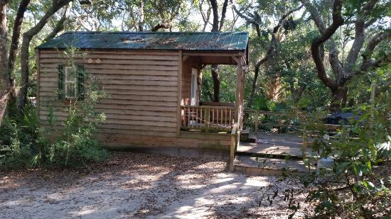 Small Cabin Picture Of North Beach Camp Resort St Augustine Tripadvisor