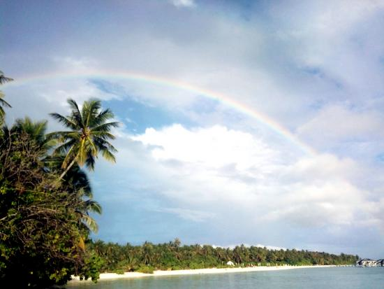 Sun Island Beach: Радуга