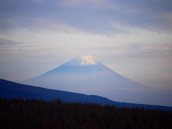 Kirigamine Fujimidai: 夕方の富士山