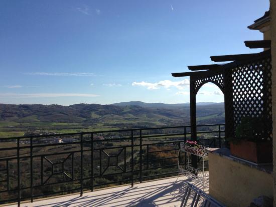 Hotel Villa Clodia: Vista