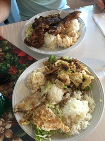 Ono Kau Kau Mixed Plate: Our Mixed Plates