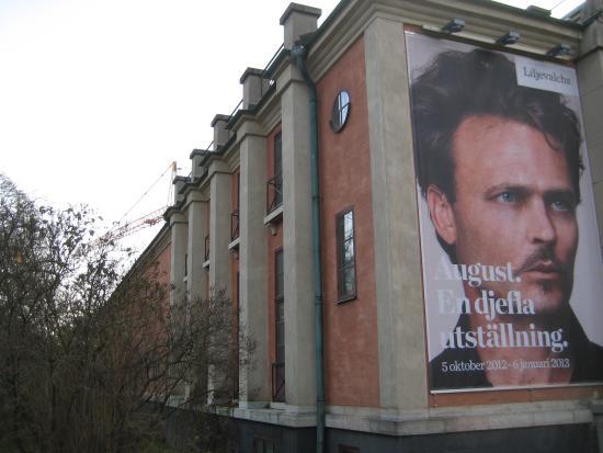 Djurgarden, Sweden: Liljevalchs Konsthall, Stockholm