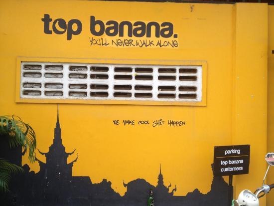Top Banana Guesthouse: Mural