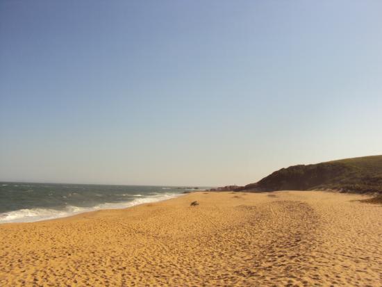 Virgem ou Costao Beach: Bela vista