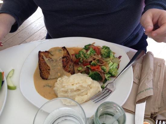 Spring Cafe Aspen: meatloaf