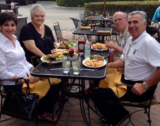 West End Grill: Old friends enjoying our fav restaurant !