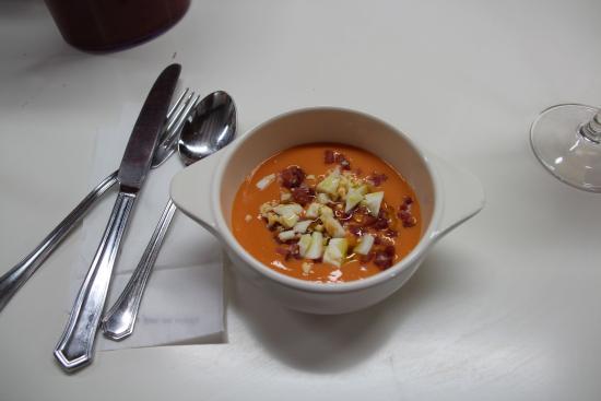 Cooking Olé: salmorejo