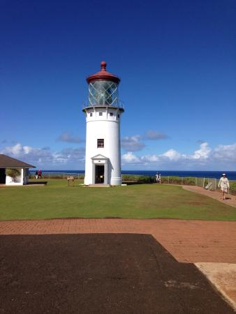 Kileaua Point National Wildife Refuge Lighthouse