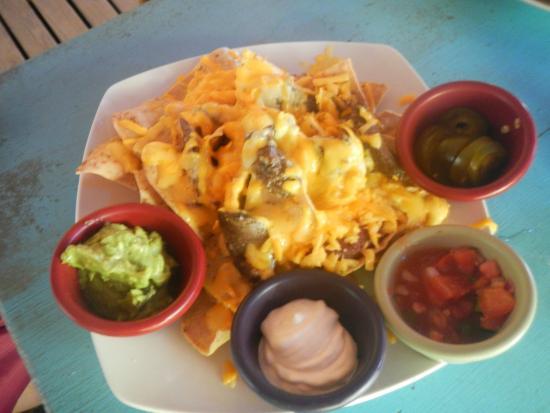 Monkey Island Beach Cafe: Beef Nachos