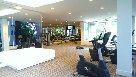 Gym clean and big picture of avista hideaway phuket for Fitness 19 kids room