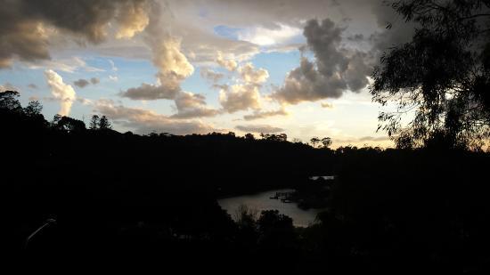 Bella Casa Noosa: Sunset from Balcony