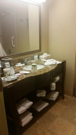 Hampton Inn & Suites of Ft. Pierce: bathroom