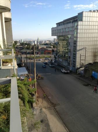 Haikan Hotel: Вид с балкона