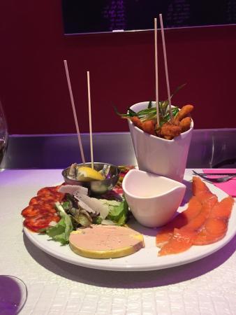 Le Cafe Cafe Biarritz : Assortiments Tapas