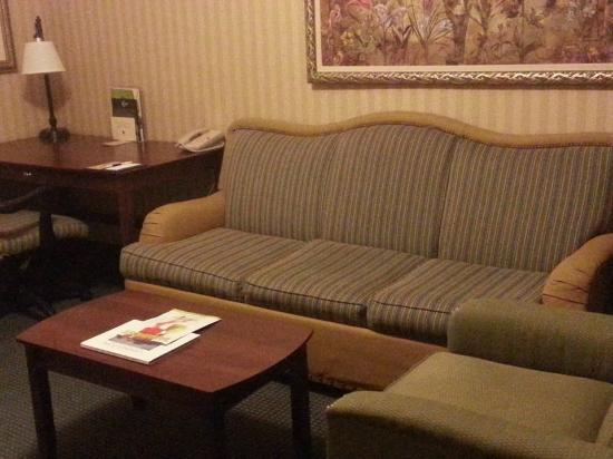 DoubleTree Suites by Hilton Hotel Lexington: Needs refreshing!