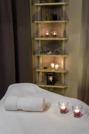 San Pedro : Salle massage, accès privatif