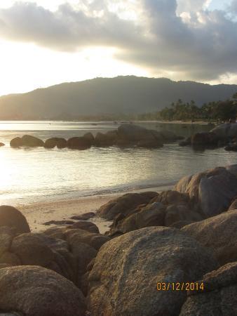 Lamai Bay View Resort : The beach