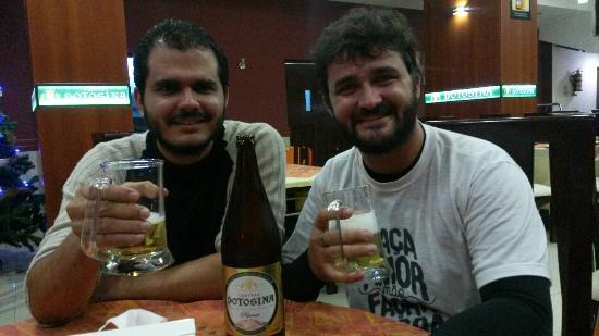 El Fogon: Ótima comida e cerveja local.