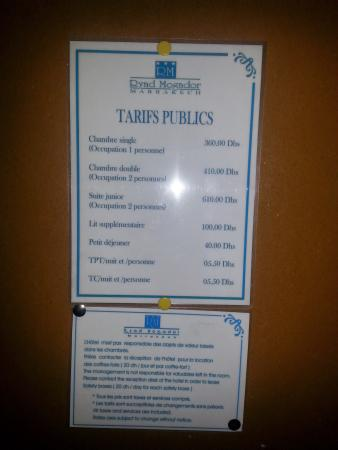 Mogador Express Bab Doukkala: j'ai acheter un deal concernant cet hôtel en espérant qu'il serait à la hauteur mais hélas pour