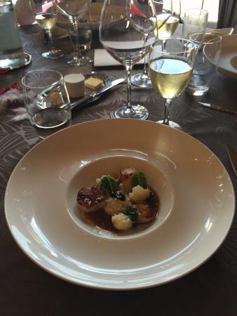Restaurant Le Vent d'Ange : Saint jacque noel 2014