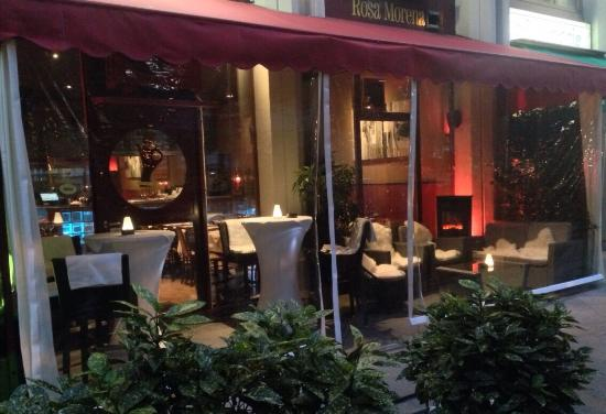 terrasse couverte d hiver du restaurant picture of rosa morena carouge tripadvisor. Black Bedroom Furniture Sets. Home Design Ideas