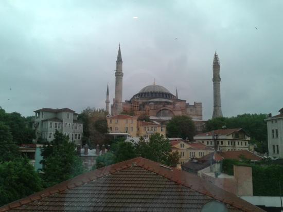 Zeynep Sultan Hotel: hotel view