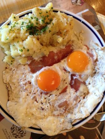 Rifugio Salei: uova speck e patate