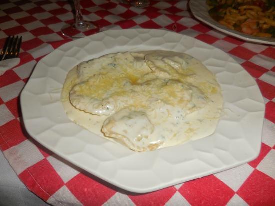 Trattoria Del Centro : Ravioli with spinach and ricotta
