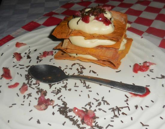 Trattoria Del Centro : Delicious dessert