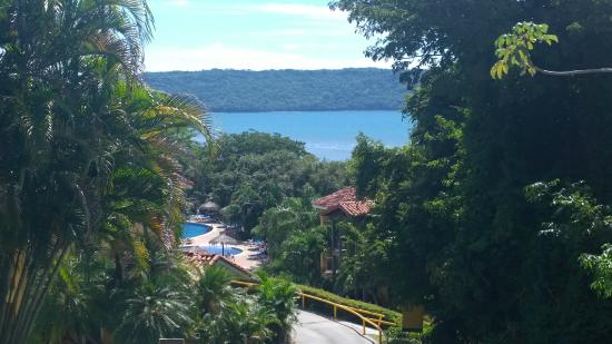 Allegro Papagayo: View of the bay from the shuttle path