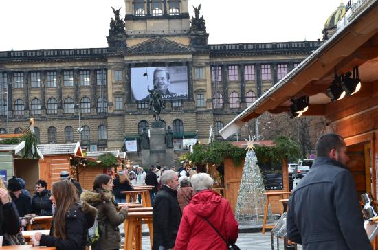 Hotel Suite Home Prague: Five minutes walk to Vencel place