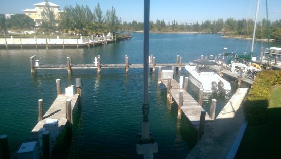 Flamingo Bay Hotel & Marina: View from the balcony