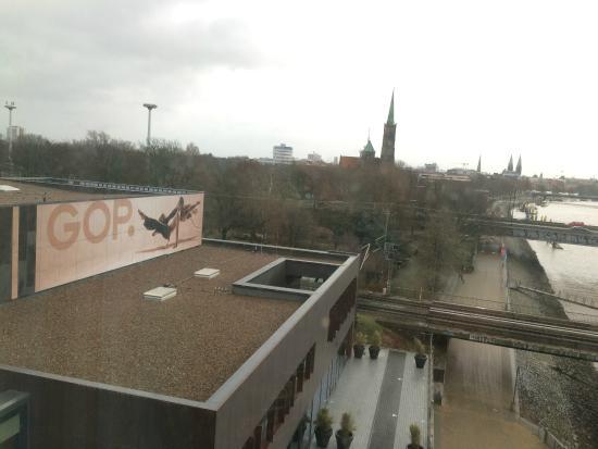Steigenberger Hotel Bremen: Uitzicht naar de Alt-stadt
