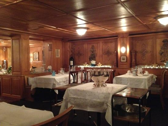 Santis, Romantik Hotel: La salle à manger
