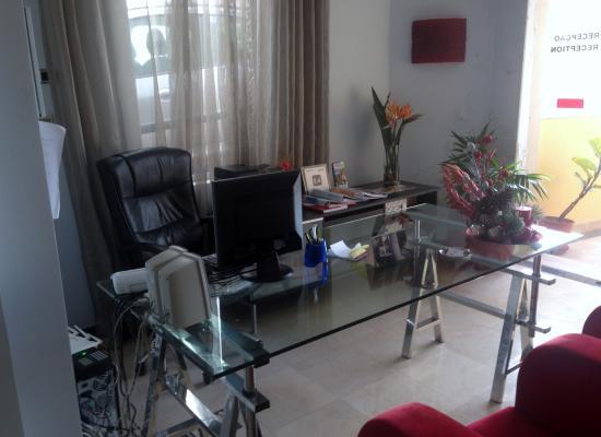 Hotel Apartments Baia Brava : Recepção.