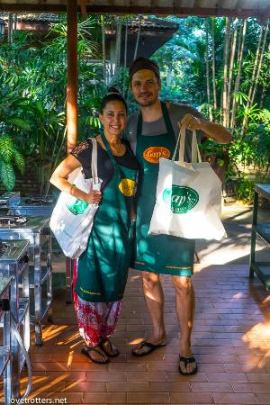 Gap's School of Thai Culinary Art: Our free bags and cooking books
