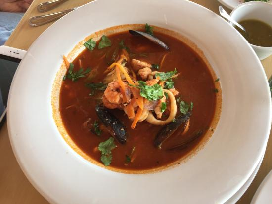 Resort Boutique El Fuerte : Seafood Soup The best in town! Awesome!!!������