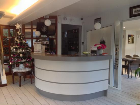 Hotel Plage St Jean : L'accueil de l'hôtel