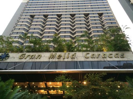 Resultado de imagen para Fachada del hotel Gran Meliá Caracas