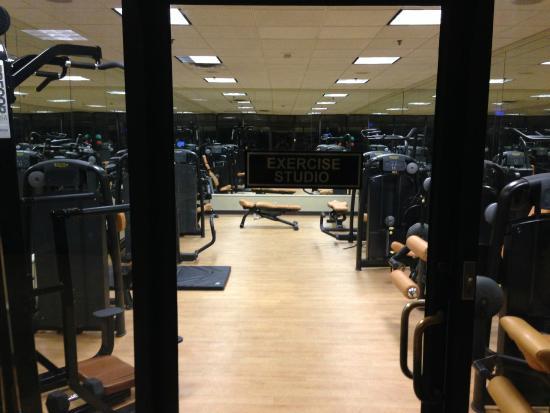 Renaissance Atlanta Waverly Hotel Convention Center Gym