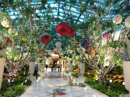 Wynn Las Vegas Casino: Interior Garden