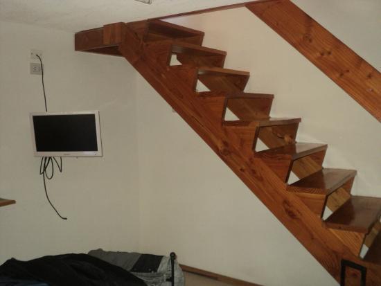 Del Sir Apart-Hotel : escalera al dormitorio