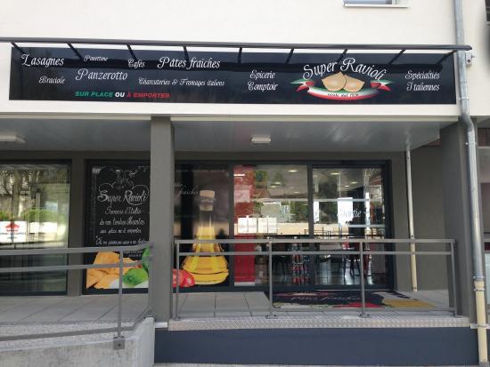 Montbonnot-Saint-Martin, France : Super Ravioli Montbonnot