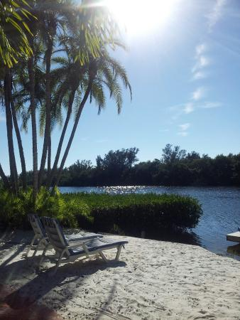 Siesta Key Bungalows: The private little beach