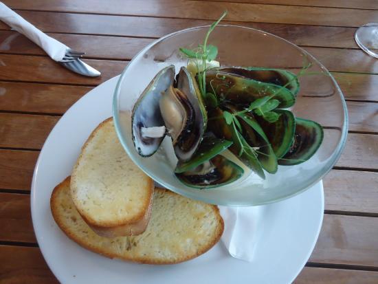 The Pier Lounge Bar & Cafe: Dinner :)