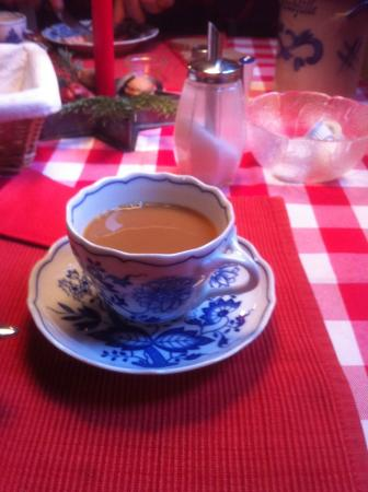 Dinkelsbühler Kunst-Stuben: petit déjeuner appétissant et excellent café !