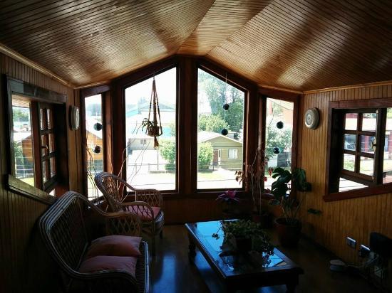Hostal Lagunitas: Balcony